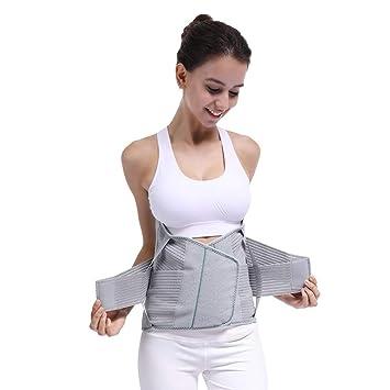 40ef7a1737d74 Lumbar Back Spinal Spine Waist Brace Support Belt Corset Stabilizer Cincher  Tummy Trimmer Trainer Weight Loss