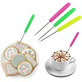 5 Pcs Scriber Needle Modelling Tool Marking Patterns Icing Sugar Cake Decorating,Random Color By Crqes