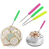 5pc Scriber Needle Modelling Tool Cake Cookie Icing Decorating Patterns Deal (Small Image)