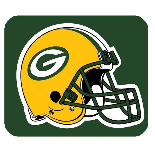 38fa1438d3a43 Custom Your Own Green Bay Packers NFL Series Mousepad JN323 - Buy Online in  Oman.