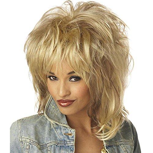 Adult Tina Turner Style Wig -