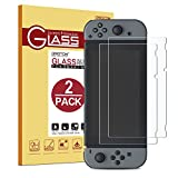 [2 Pack]Nintendo Switch Tempered Glass Screen Protector – OMOTON Updated Version Full Coverage Screen Protector for Nintendo Switch 2017 with [Anti-Scratch] [Super Clarity] [No Bubble Install], Clear Reviews