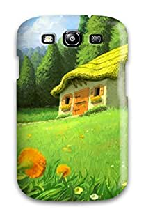 New Snap-on BrianJF Skin Case Cover Compatible With Galaxy S3- House