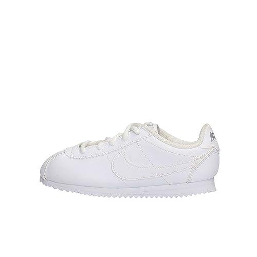 Nike Cortez (PS), Zapatos de Primeros Pasos para Bebés, Blanco White-Wolf Grey, 30 EU: Amazon.es: Zapatos y complementos