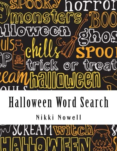 Halloween Word Search: Large Print Word Search Book