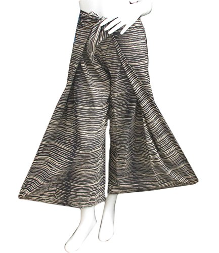 thai danai Presents.Free shpping Fashionable Fine Cotton Pant Tiger Printed Free Size Fit For 26-34 inches Long 40 inches by Thai (Image #4)