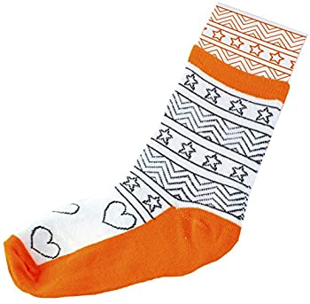 Creativity For Kids Doodle Socks – 3 Pairs Of Socks To Color – Teaches Beneficial Skills – On Size Fits Most – For Ages 7 & Up 3