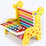 Heo Wooden Multifuctional Abacus Educational Counting And Math Learning Toys With Slide Out Xylophone For Kids (Xylophone)