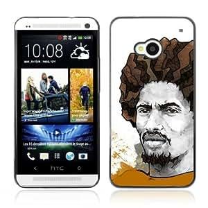 YOYOSHOP [Cool Rasta Illustration] HTC One M7 Case