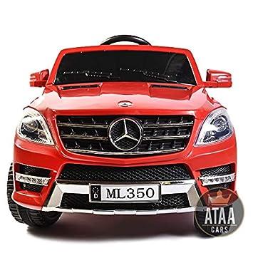Licenceed 12v Voiture Rouge Enfants Ml350 Électrique À Batterie La Ataa Mercedes D9eEIYH2W