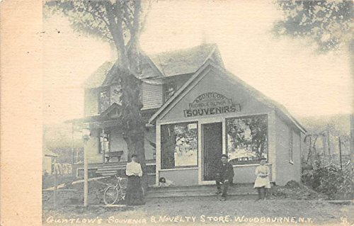 Guntlow's Souvenir & Novelty Store Woodbourne, New York, Postcard ()