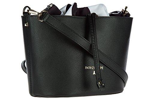 Patrizia Pepe borsa donna tracolla borsello originale nero