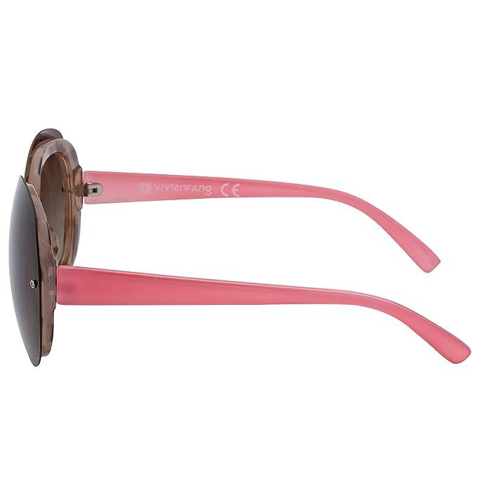Vivienfang - Gafas de sol - para hombre Demi: Amazon.es ...