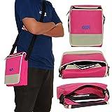 ACM Flip Soft Padded Shoulder Sling Bag Compatible