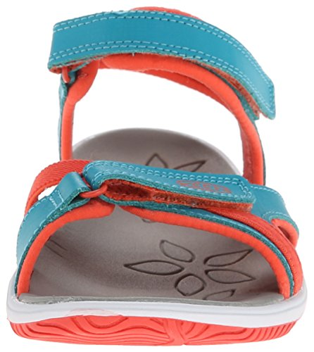 Keen Harper Children capri breeze/hot coral Turquesa - Capri Breeze/Hot Coral
