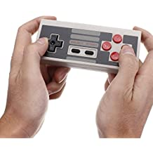 abcGOODefg Wireless Bluetooth NES Controller for iOS/Windows/Mac OS and Android Gamepad - PC Mac Linux (Same NES Touch, Same NES Feeling)