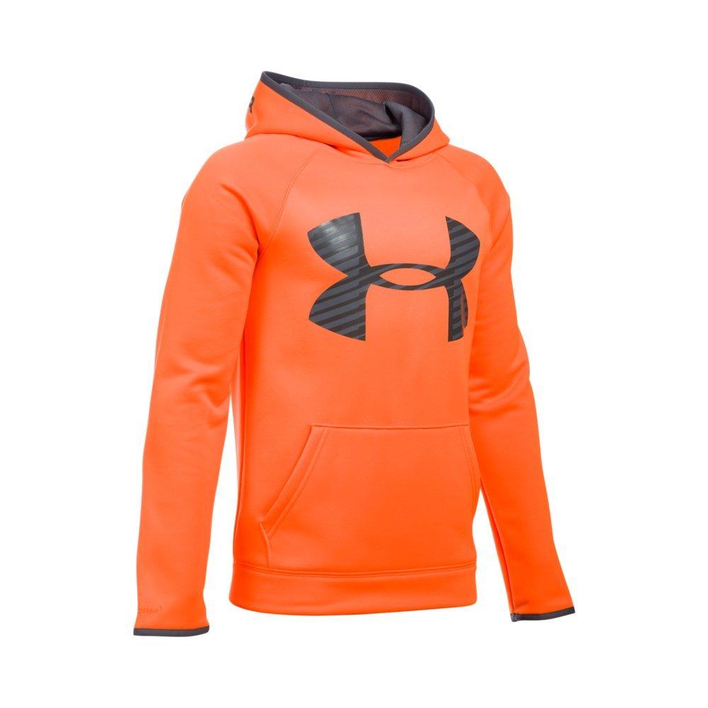 Under Armour UA Storm Armour Fleece Highlight Big Logo Youth X-Small Blaze Orange