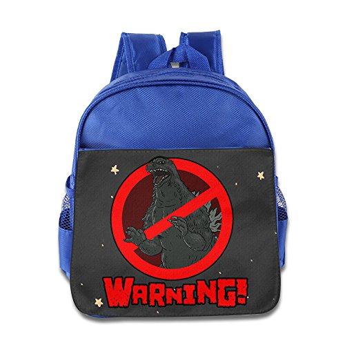 PRIMEEE Popularity Monster King Godzilla Logo Backpack / Kids' School Backpack