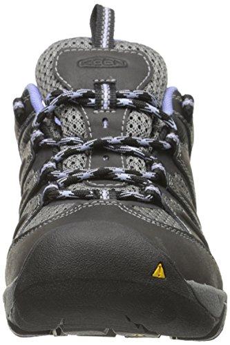 KEEN Womens Koven Hiking Shoe Black/Periwinkle PNRYDa