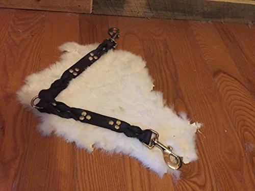 Black Leather Leash Coupler