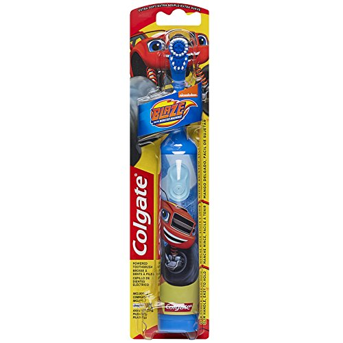 Colgate Kids Powered Toothbrush, Blaze and the Monster Machines, Extra Soft
