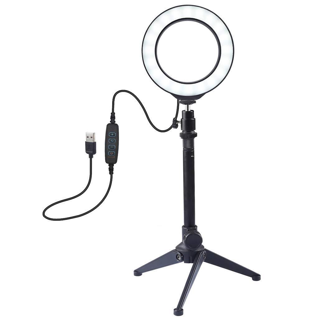 CellphoneMall LED Video Light 2 PCS 6W 12 SMD 5730 LED Photography Photo Studio Portable Handheld Light Lamp Color : Warm White White Light