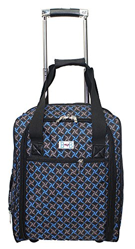 BoardingBlue New Spirit Airlines 1-for-2 Rolling Personal Item Under Seat (Spirit Airlines Under Seat Bag)