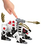Fisher-Price Imaginext Power Rangers White Ranger and Tiger Zord