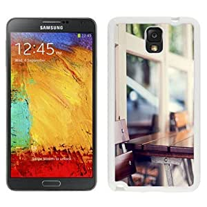 NEW Unique Custom Designed Samsung Galaxy Note 3 N900A N900V N900P N900T Phone Case With Urban Wooden Coffee Table_White Phone Case Kimberly Kurzendoerfer