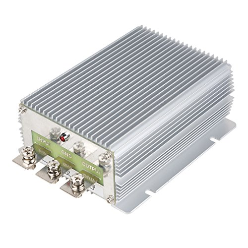 uxcell uxcell NEW High-Power Voltage Converter Regulator DC 24V Step-down to DC 12V 50A 600W Car Truck Power Buck Transformer