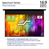 Elite Screens Spectrum Tab-Tension, Tensioned