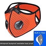Reusable Respirators,Unisex Adjustable Earloop Face Coverings for Allergies Woodworking,Cycling, Running