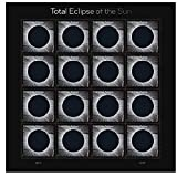 Office Products : Total Eclipse of the Sun - USPS Forever Stamps Sheet of 16 - New 2017 Release