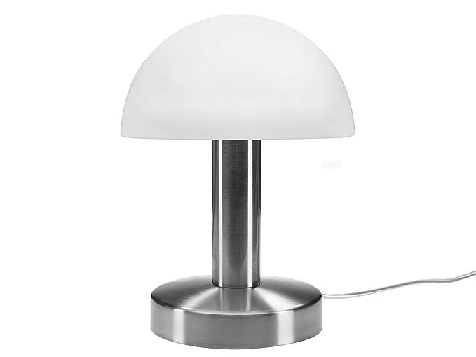cristal blancopie en opal de mesa Lámpara pantalla con de xorCBed