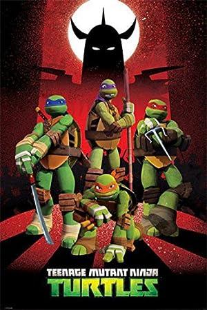 Posters: Teenage Mutant Ninja Turtles Poster - Donnie, Leo