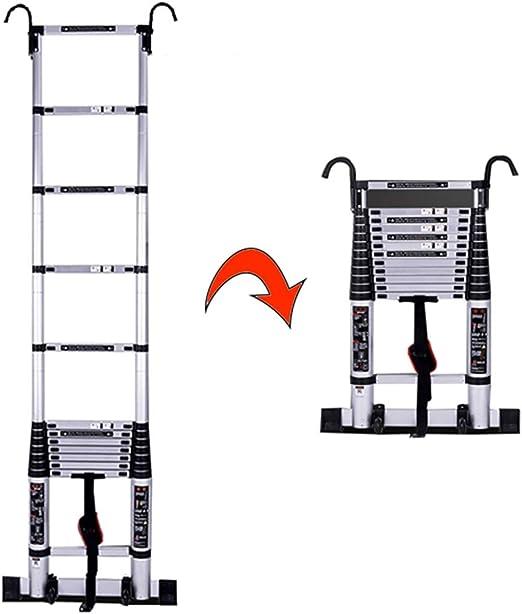 Escalera extensible Escalera telescópica Escalera telescópica con ...