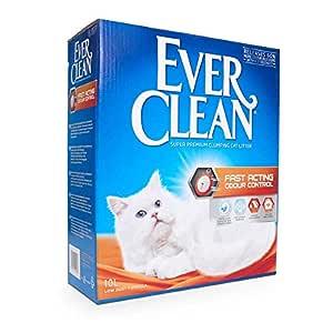 Ever Clean kattsand snabbverkande luktkontroll, stor, 10 liter