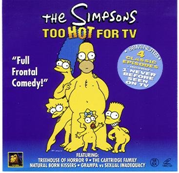 Amazon Com The Simpsons Too Hot For Tv Vcd Video Cd Import Movies Tv