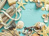 Guest Book: Wedding Guest Book Beach Theme,  Suitable For Weddings & Other Uses.  Free Layout To Use as you wish for Names & Addresses, or Advice, Wishes, Comments or Predictions. (Guests)