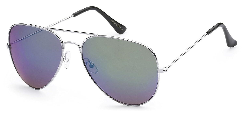 5Zero1 Air Force Metal Frame Classic Men Women Revo Mirrored Aviator Sunglasses