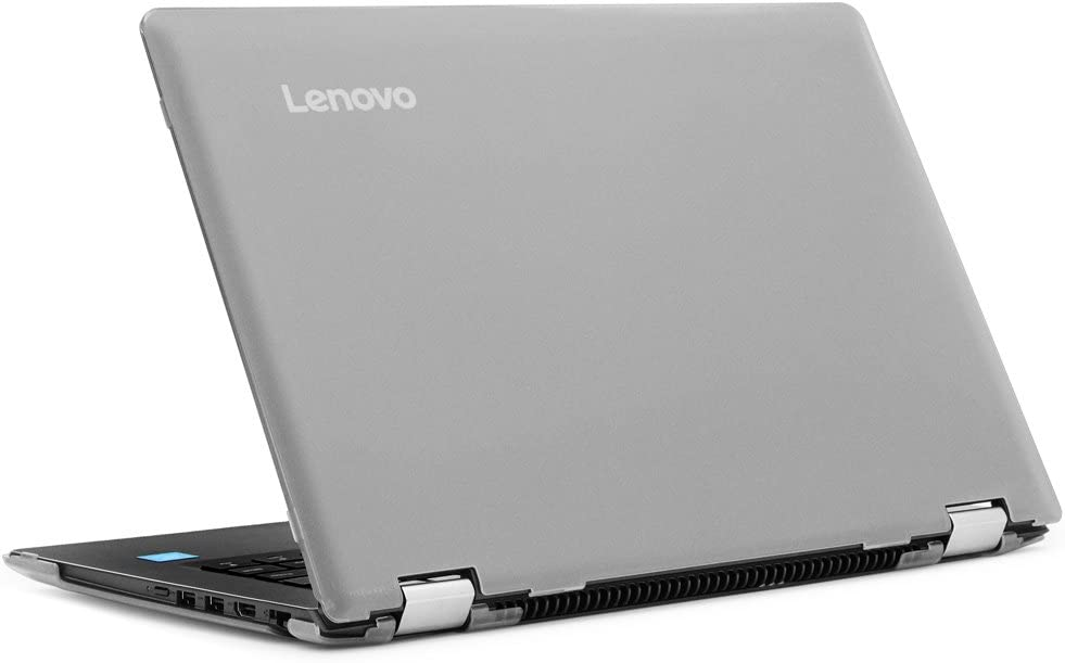 """mCover Hard Shell Case for New 14"""" Lenovo Ideapad Flex 4 14 (4-1470/4-1435/4-1480, NOT Compatible with Newer Flex 5/6 Series) Laptop Computers (Clear)"""