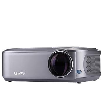 Webla Mini Proyector de película portátil para Proyector de vídeo ...