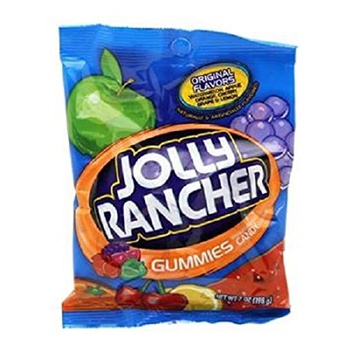 Product Of Jolly Rancher, Gummies, Count 12 (7 oz) - Sugar Candy / Grab Varieties & Flavors ()