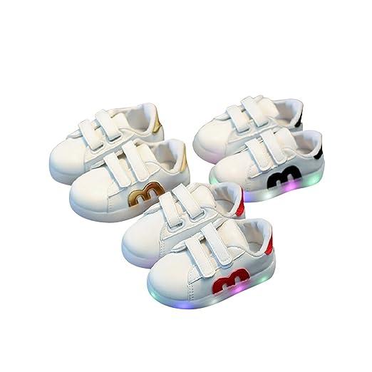 2 opinioni per Cenblue bambini Glowing scarpe luce scarpe per ragazzo Girls–LED sneakers