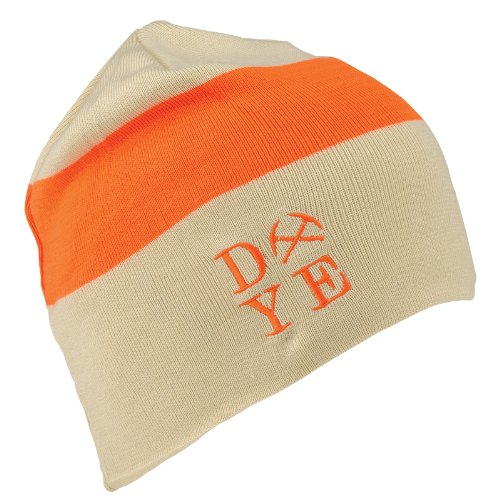 Dye Paintball Beanie - 3AM - Tan/Hunter Orange