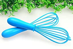 Ospard Silicone Kitchen Whisk, Balloon Wire Whisk, Egg Frother, Milk Beater, Kitchen Aid For Blending Whisking Beating Stirring BTR-007