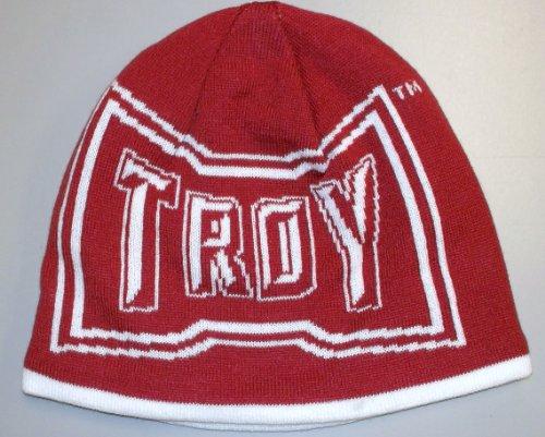 Troy University Trojans Player Reversible Adidas Knit HAT - Osfa - KD50Z
