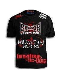 Stryker Muay Thai Fighting Signature Walkout Sponsored Shirt W Tapout Sticker