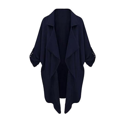 ropa de mujer otoño invierno abrigo chaqueta,RETUROM Chaqueta larga ocasional de la chaqueta del Windbreaker de las mujeres de la manera
