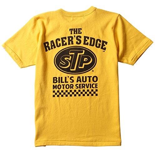 遠洋の大きさ逸話(エスティーピー) STP Tシャツ オリジナル BILLS AUTO バックプリント ヘビーTシャツ Prestonsボディ